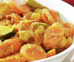 Healthy chickpea curry