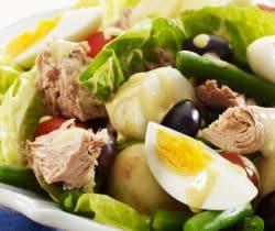 Healthy salad nicoise recipe